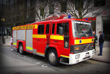 fire engine hire leicester