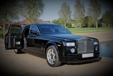 Black Rolls Royce Phantom Hire