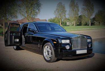 Black Rolls Royce Phantom Hire