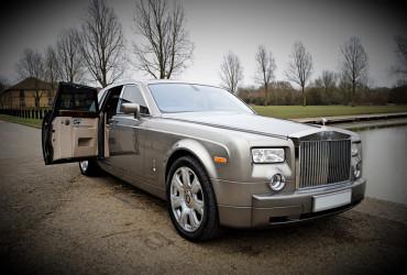 Grey Rolls Royce Phantom Hire