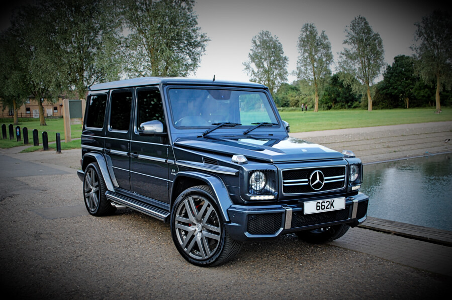 Mercedes G-WAGON G63 AMG Hire
