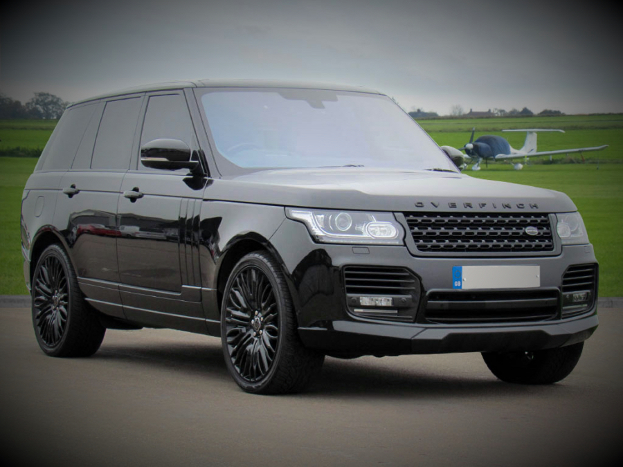 BLACK Range Rover 4.4 SDV8 Vogue Autobiography Hire
