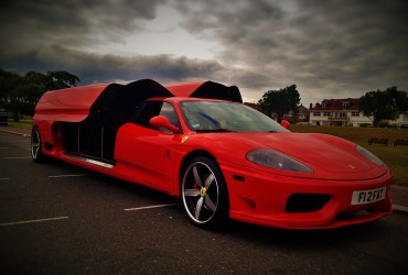 Ferrari 360 Modena Stretch Limo Hire
